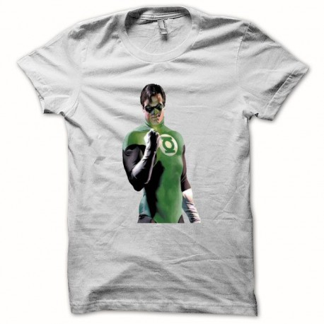 Tee shirt Green Lantern La Lanterne verte blanc