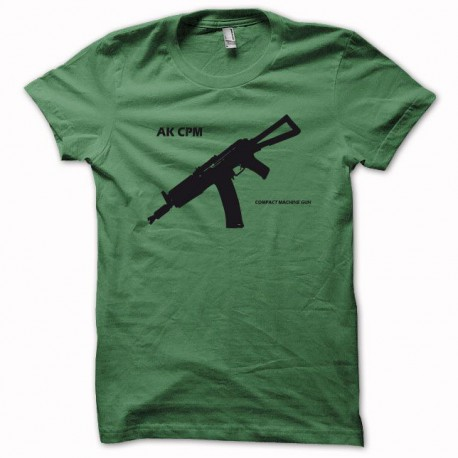 Shirt AK-CPM SOVIET black / green bottle