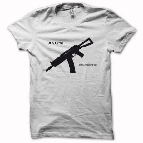 Tee shirt AK-CPM SOVIET noir/vert bouteille