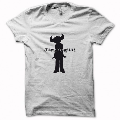 Tee shirt Jamiroquai noir/blanc slim fit