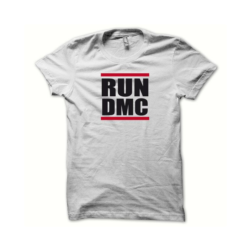 6b0c86aefb251 RUN DMC camiseta blanca ...