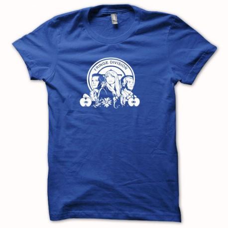 Tee shirt Fringe Division bleu/blanc