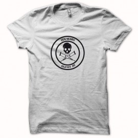 Tee shirt Jackass 10 years of stupid noir/blanc