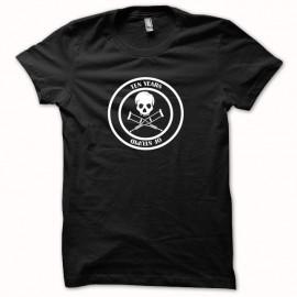 Jackass camiseta 10 años de estúpida blanco / negro