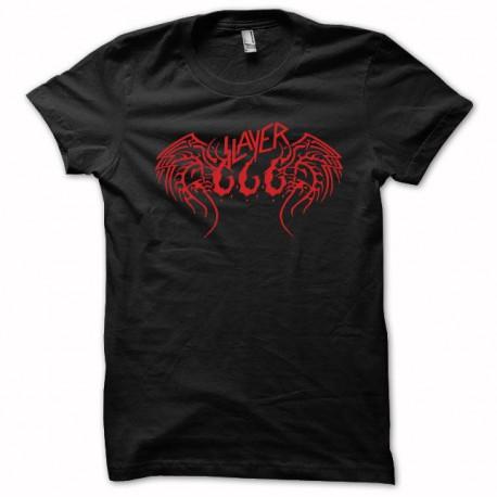 Tee shirt Slayer rouge/noir