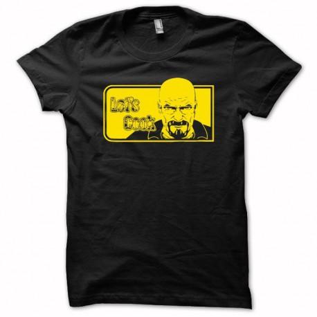 Tee shirt Breaking bad Heisenberg blanc/noir