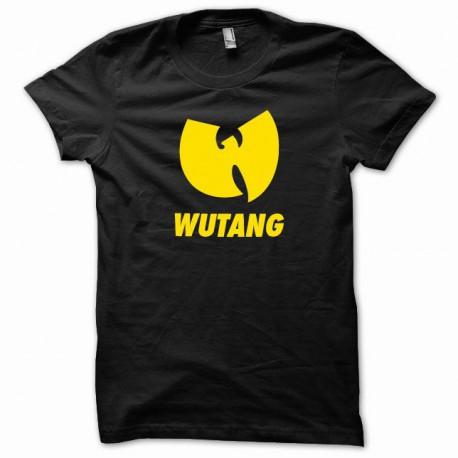 Tee shirt Wu-Tang Clan jaune/noir