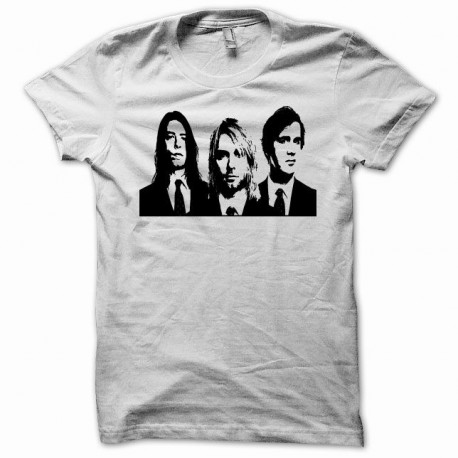 Tee shirt Nirvana Kurt cobain Noir/Blanc