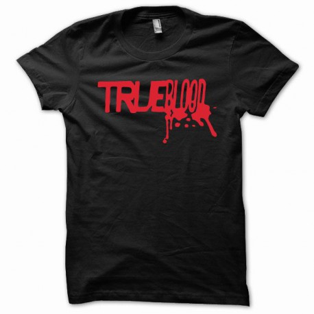 Camiseta True Blood rojo / negro
