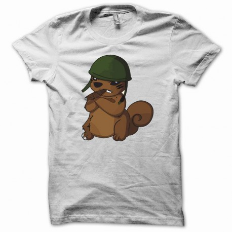 Tee shirt Parodie agence tout risque blanc