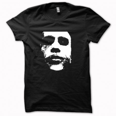 Camisa blanca de Batman Joker Heath Ledger / negro