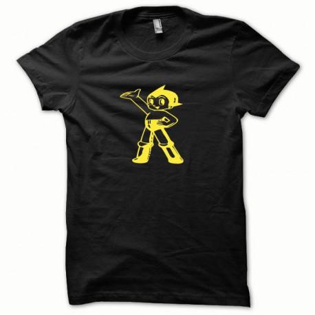 Tee shirt Astro jaune/noir