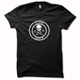Tee shirt Jackass 10 years of stupid blanc/noir