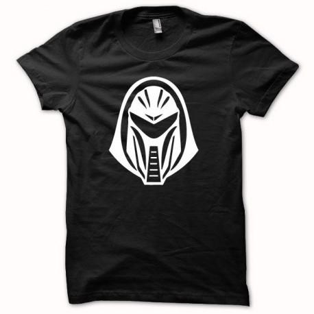 Tee shirt Battlestar Galactica Cylon blanc/noir