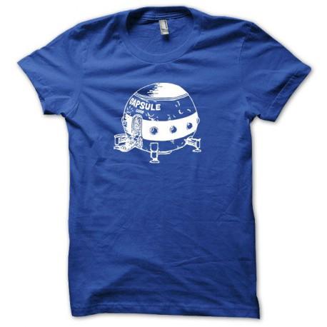 Tee shirt Capsule Corp Dragon ball blanc/bleu royal