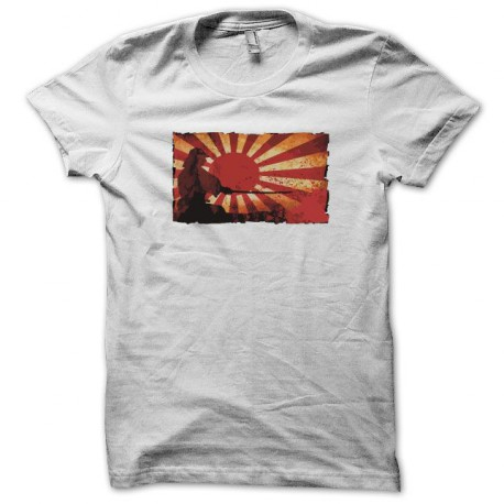 Shirt Samurai sunrise white