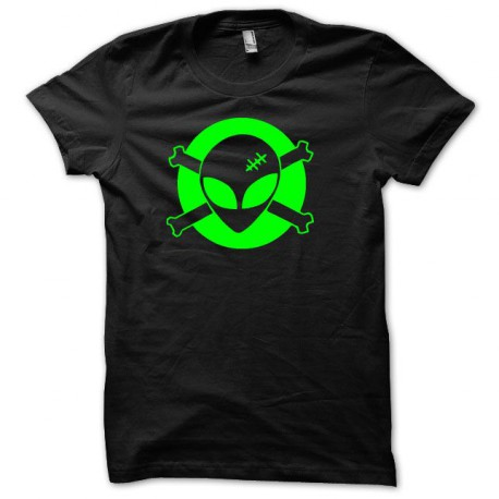 Own UFO Roswell techno green / black