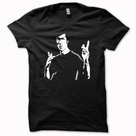 Tee shirt Bruce Lee Bam noir
