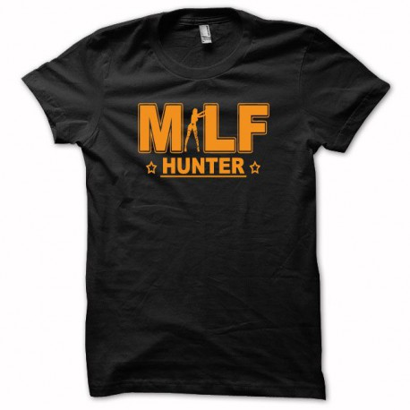 Tee shirt MILF Hunter orange/noir