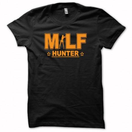 Camisa naranja de MILF Hunter / negro