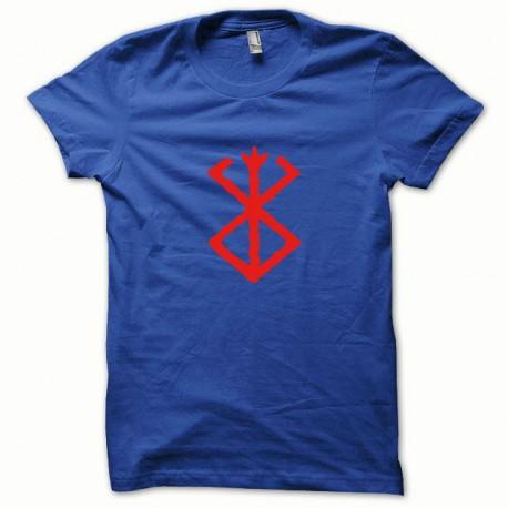 Tee shirt Berserk rouge/bleu royal