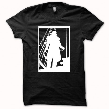 Tee shirt Nosferatus le vampire blanc/noir