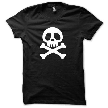 Shirt Harlock Hārokku white / black