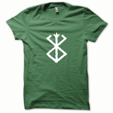 Shirt Berserk white / green bottle