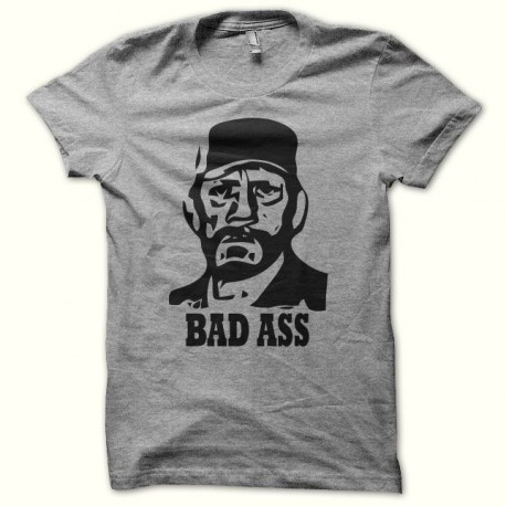 T-shirt Bad Ass Frank Vega black/gray