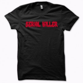 T-shirt Serial Killer redblack