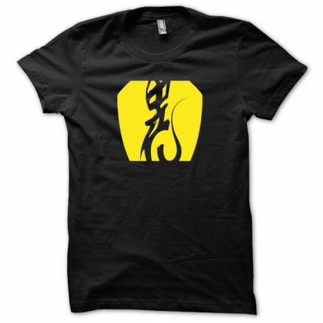 Shirt Alien UFO Roswell yellow / black