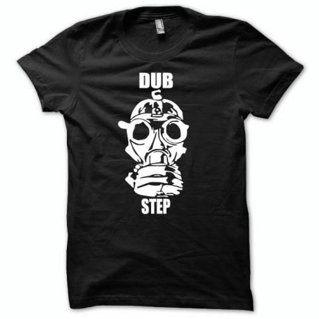 Tee shirt dubstep Nuclear noir/blanc