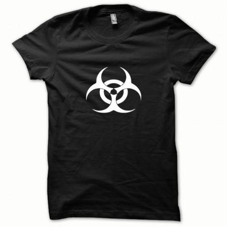 Tee shirt Biohazard blanc/noir