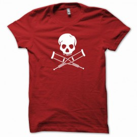 Shirt Jackass white / red