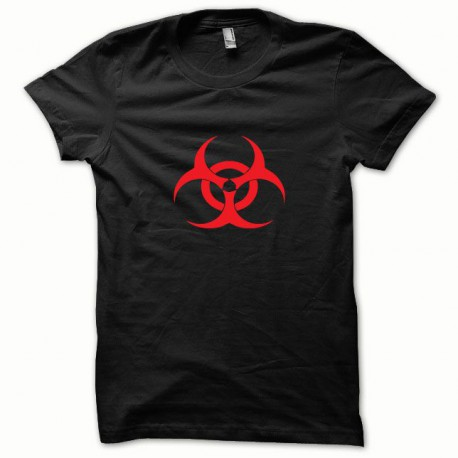 Tee shirt Biohazard rouge/noir