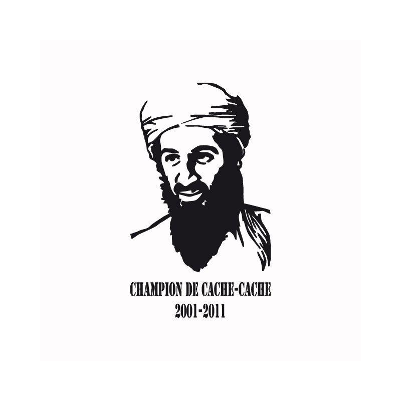 8854cfc19 ... Shirt Osama bin Laden dead hide and seek champion 2001 2011 white