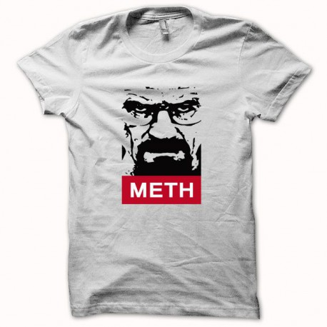 Tee shirt Breaking bad Heisenberg METH noir/blanc