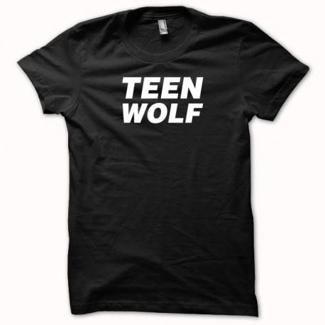 Tee shirt Teen Wolf blanc/noir