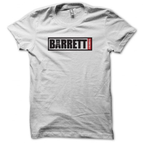 Tee shirt Barrett Light Fifty airsoft noir/blanc