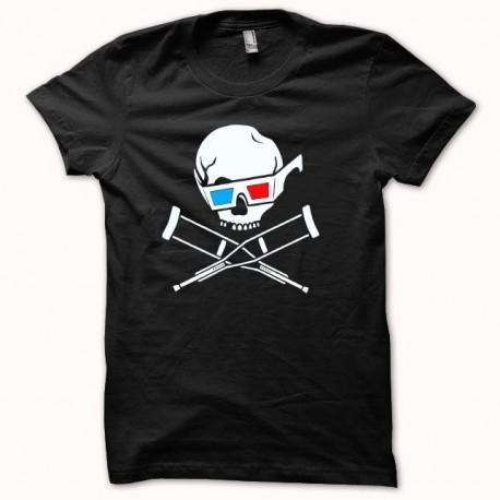 Jackass 3D camisa blanca / negro