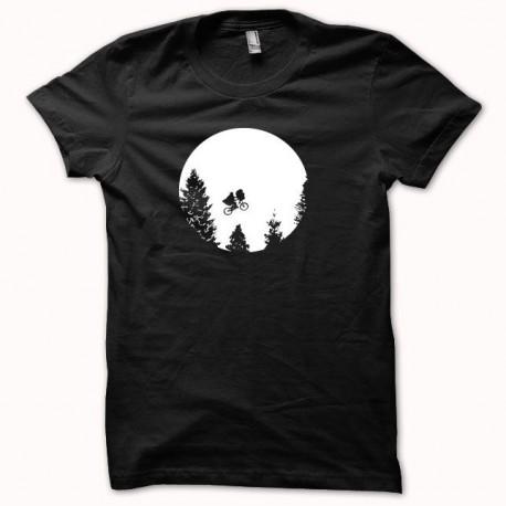 Shirt ET the Extra-Terrestrial parody white / black