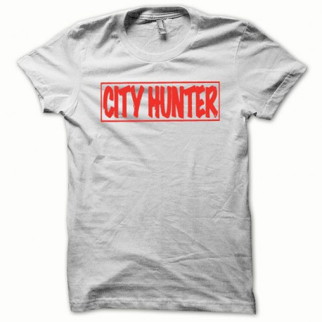 Tee shirt City Hunter rouge/blanc