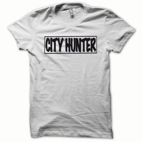 Tee shirt City Hunter blanc/noir