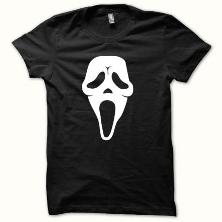 Tee shirt Scream blanc/noir