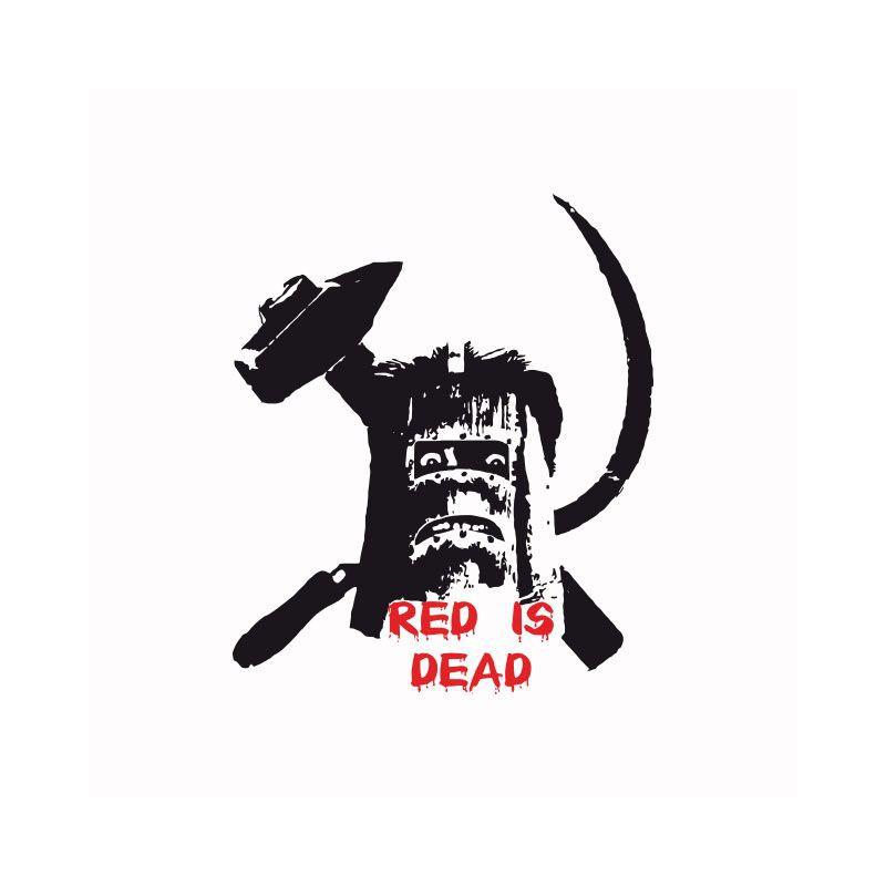 tee shirt red is dead simon la cit de la peur parodie les nuls blanc. Black Bedroom Furniture Sets. Home Design Ideas