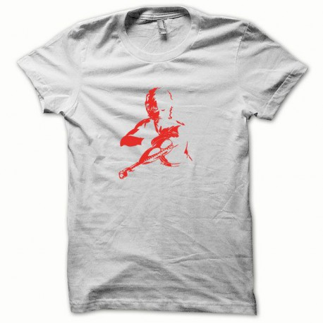 Tee shirt Cobra rouge/blanc