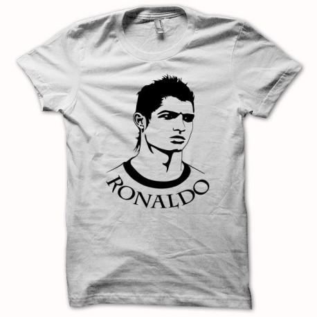 Tee shirt Cristiano Ronaldo dos Santos Aveiro noir/blanc