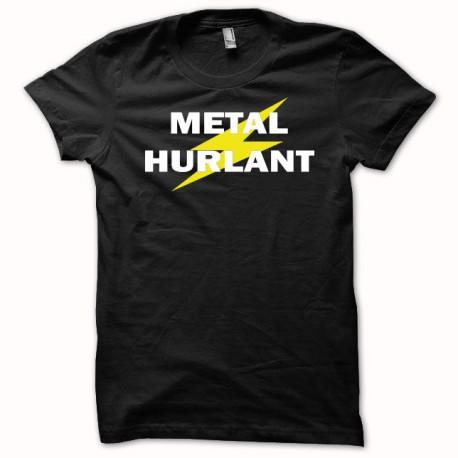 Tee shirt Metal hurlant  blanc/noir