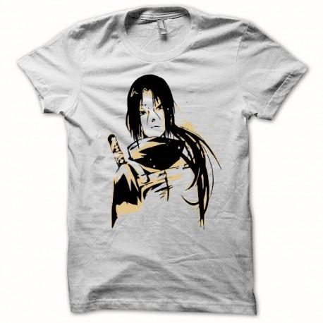 Tee shirt Naruto itachi uchiha blanc