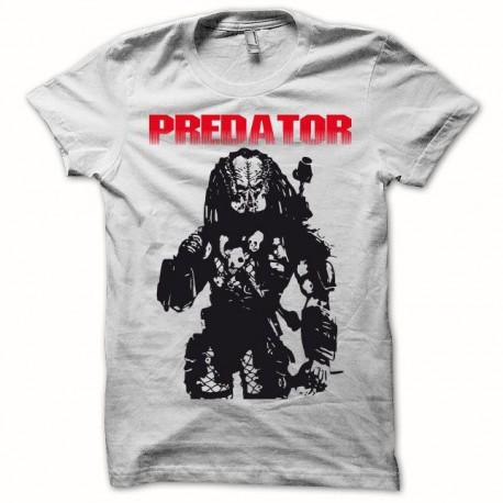 Tee shirt Predator noir/blanc